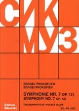 Symphonie n° 7 op. 131 – Score - Serge Prokofiev - laflutedepan.com