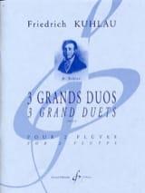 3 Grands Duos Op. 39 Friedrich Kuhlau Partition laflutedepan.com