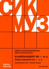 Concerto pour Piano N° 1 Op. 35 – Partitur - laflutedepan.com