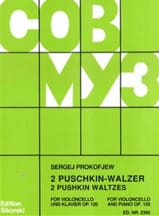 Serge Prokofiev - 2 Puschkin-Walzer op. 120 - Sheet Music - di-arezzo.co.uk