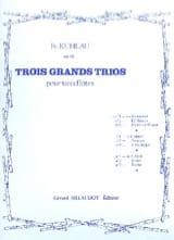 3 Grands trios op. 86 - n° 1 - 3 Flûtes laflutedepan.com