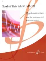 2 Duos concertants op. 46 Gotthelf-Heinrich Kummer laflutedepan.com