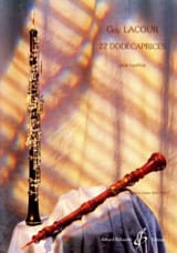 Guy Lacour - 22 Dodécaprices - Oboe - Sheet Music - di-arezzo.co.uk
