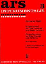 Konzert g-moll –Oboe Klavier - laflutedepan.com
