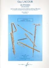 28 Etudes – Flûte Guy Lacour Partition laflutedepan.com