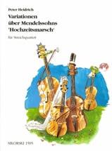 Variationen über Mendelssohns Hochzeitsmarsch - Streichquartett laflutedepan.com