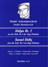 Walzer Nr. 2 aus der Suite Nr. 2 für Jazz-Orchester - laflutedepan.com