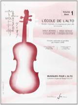 L' Ecole de l' Alto Volume 1 Frédéric Lainé Partition laflutedepan.com