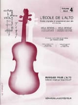 Frédéric Lainé - The School of Alto Volume 4 - Sheet Music - di-arezzo.com