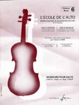 L'école de L'alto Volume 6 Frédéric Lainé Partition laflutedepan