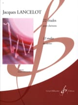 Jacques Lancelot - 22 Studies for clarinet - Sheet Music - di-arezzo.com