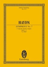 Sinfonie Nr. 7 C-Dur le Midi HAYDN Partition laflutedepan.com