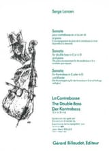 Serge Lancen - Sonata - Double bass - Sheet Music - di-arezzo.co.uk