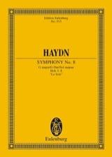 Sinfonie Nr. 8 G-Dur le Soir Joseph Haydn Partition laflutedepan.com
