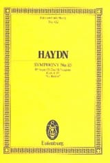 HAYDN - Sinfonie Nr. 85 B-Dur - Sheet Music - di-arezzo.co.uk