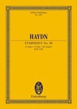 Sinfonie Nr. 88 G-Dur HAYDN Partition Petit format - laflutedepan.com