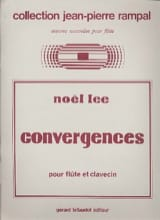 Noël Lee - Convergences - Partition - di-arezzo.fr