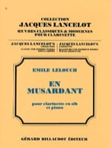 Emile Lelouch - By lounging - Sheet Music - di-arezzo.com