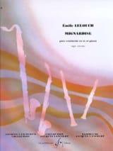 Mignardise Emile Lelouch Partition Clarinette - laflutedepan.com
