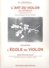 L'art du violon - 25 Caprices laflutedepan.com