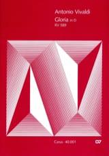 Gloria D-Dur RV 589 – Partitur - Antonio Vivaldi - laflutedepan.com