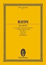 Streich-Quartett C-Dur op. 76 n° 3 HAYDN Partition laflutedepan.com