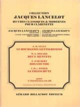 - Bourgeois Gentilhomme / 2 Menuets / Rosamunde / Freischütz - Partition - di-arezzo.fr