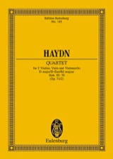 Streich-Quartett D-Dur op. 71 n° 2 HAYDN Partition laflutedepan.com