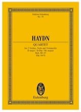 Streich-Quartett D-Dur op. 64 n° 5 - Joseph Haydn - laflutedepan.com