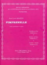 Pimprenelle - Jean-Louis Martin - Partition - laflutedepan.com