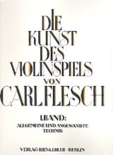 Carl Flesch - Die Kunst des Violinspiels - Bd. 1 - Sheet Music - di-arezzo.co.uk