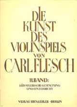 Carl Flesch - Die Kunst des Violinspiels - Bd. 2 - Sheet Music - di-arezzo.co.uk