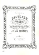 Jenö Hubay - Nocturne - Partition - di-arezzo.fr
