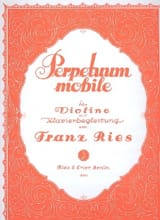 Perpetuum Mobile op. 34 n° 5 Franz Ries Partition laflutedepan.com