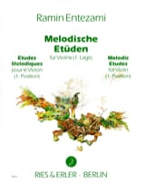 Ramin Entezami - Melodische Etüden Volume 1 - Sheet Music - di-arezzo.co.uk