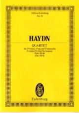 Streich-Quartett G-Dur op. 64 n° 4 - Joseph Haydn - laflutedepan.com