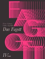 Das Fagott - Bd. 4 : 2 Fagotte Partition Basson - laflutedepan
