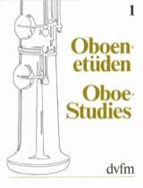 Oboen Etüden, Band 1 Fritz Rösler Partition laflutedepan.com