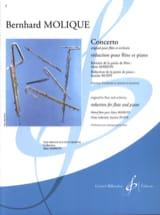 Concerto Bernhard Molique Partition laflutedepan.com
