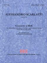 Concerto a-moll) - Flauto dolce 2 violoni e bc - Partitur + Stimmen laflutedepan.com