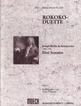 Rokoko-Duette, Heft I : 3 Sonaten BOISMORTIER laflutedepan.com