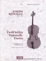 Joseph Reinagle - 12 leichte Violoncello-Duette, Heft 1 - Partition - di-arezzo.fr