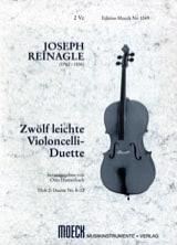 Joseph Reinagle - 12 leichte Violoncelli-Duette, Heft 2 - Partition - di-arezzo.fr