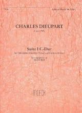 Charles François Dieupart - Suite I C-Dur - Flûte A Bec Alto et B.C. - Partition - di-arezzo.fr