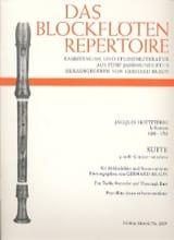Suite G-Moll (Sol Min.) - Flûte A Bec Alto et Bc - laflutedepan.com