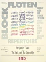 The voice of the crocodile Benjamin Thorn Partition laflutedepan.com