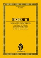 Paul Hindemith - Der Schwanendreher - Conducteur - Partition - di-arezzo.fr