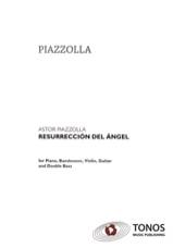 Astor Piazzolla - Resurreccion Del Angel -quintette - Partition - di-arezzo.fr