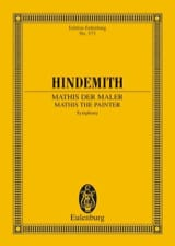 Paul Hindemith - Sinfonie Mathis der Maler – Partitur - Partition - di-arezzo.fr