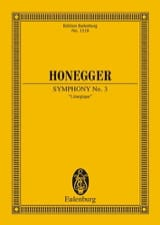 Arthur Honegger - Symphony No. 3 Liturgical - Sheet Music - di-arezzo.co.uk